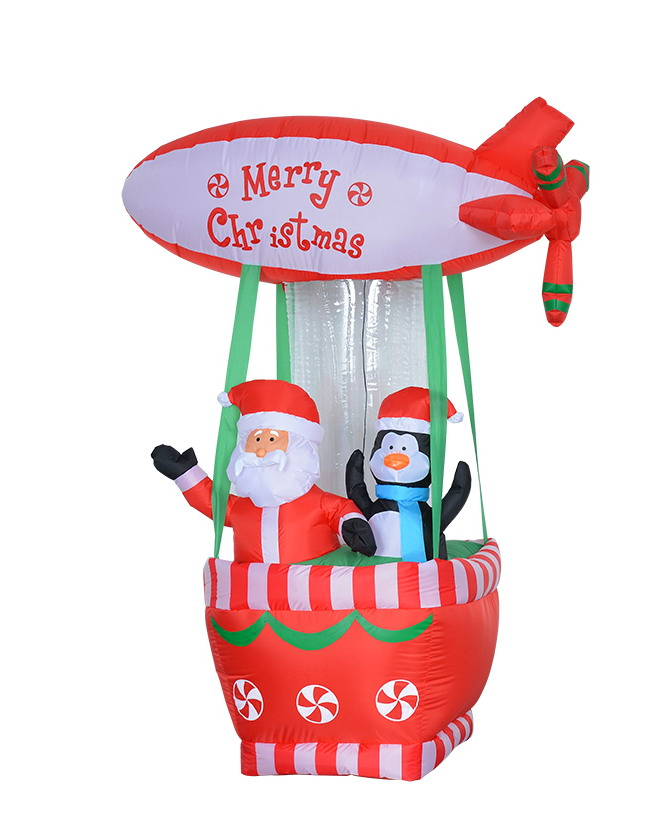 Ch13028 180 forture decor hk ltd christmas inflatable item for 180 degrees christmas decoration