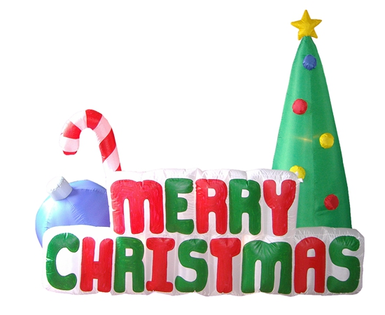 Ch12018 180 forture decor hk ltd christmas inflatable item for 180 degrees christmas decoration
